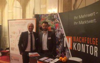 Nachfolgerforum 2018 - Tobias Kreuzer und Sebastian Wissig am NFK-Stand