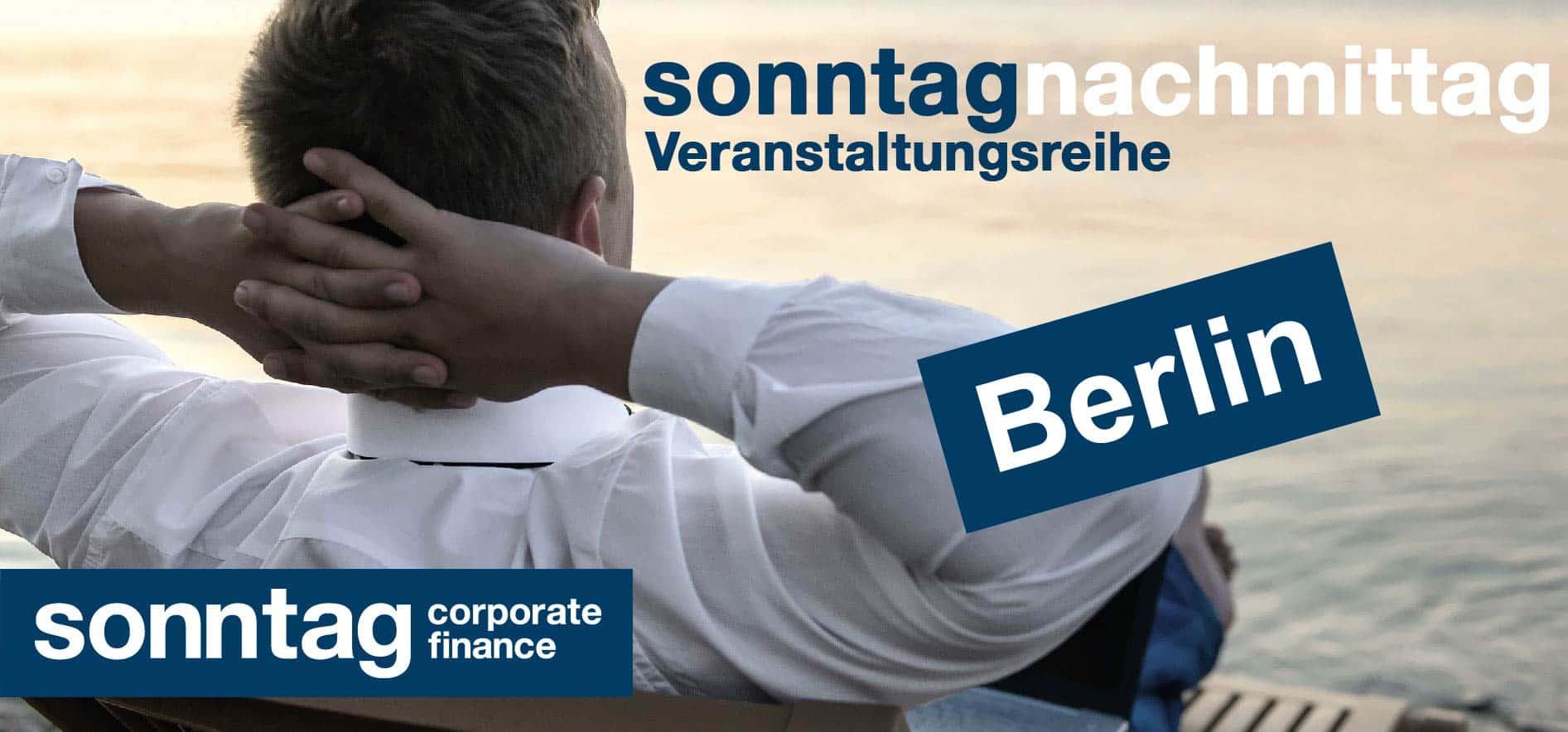 sonntagNachmittag: simplify your life für Unternehmer - Berlin