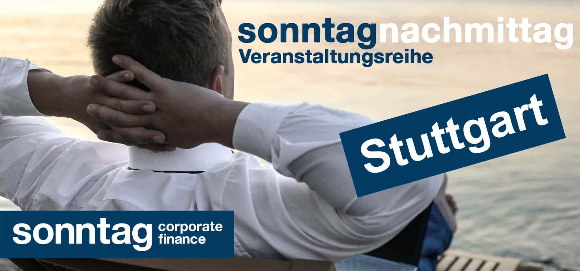 sonntagNachmittag: simplify your life für Unternehmer - Stuttgart