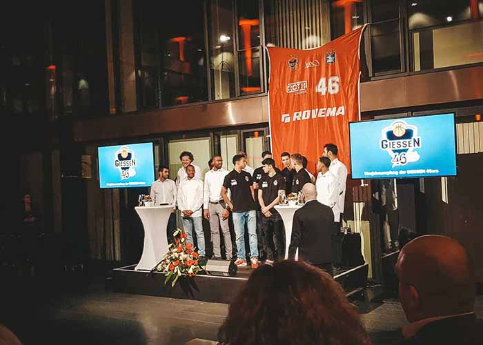 Gießen 46ers Jahresempfang Bild 2
