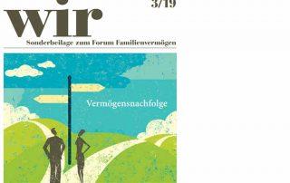 Bewertungsverfahren: Cover des Wir-Magazins mit Gastbeitrag von Julian Will