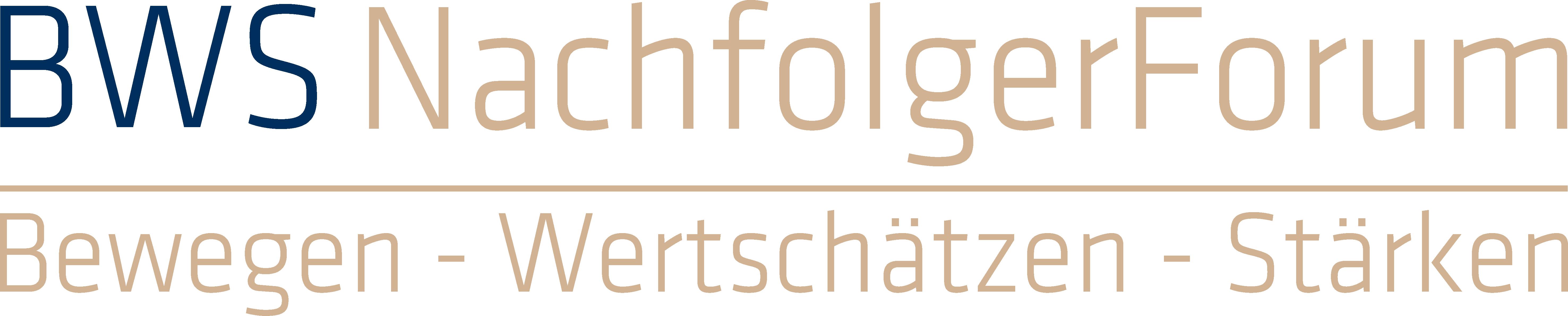 Bws Nachfolgerforum Logo