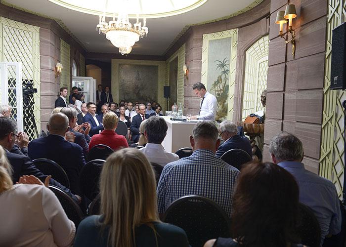 Nachfolgeland Hessen Podium