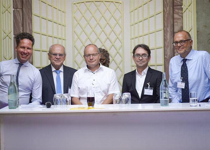 Podium Nachfolgeland Hessen