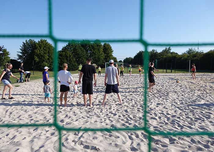 Teambuilding: Strandfußball