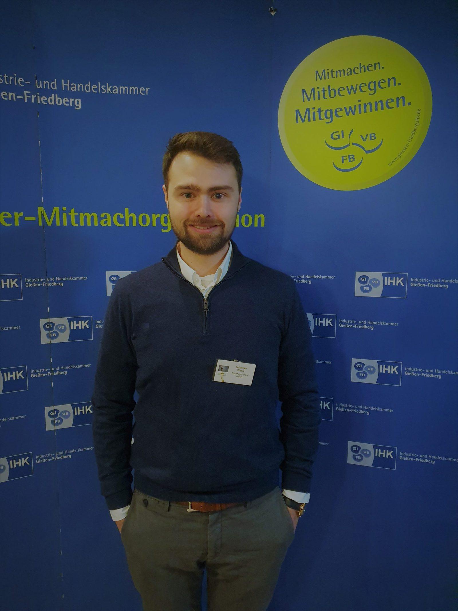 Sebastian Wissig beim IHK Jahresempfang 2020