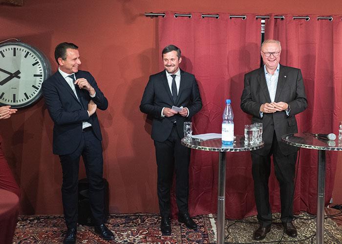 Thomas Sonntag, Stefan Söhngen und Dr. Thomas Schäfer