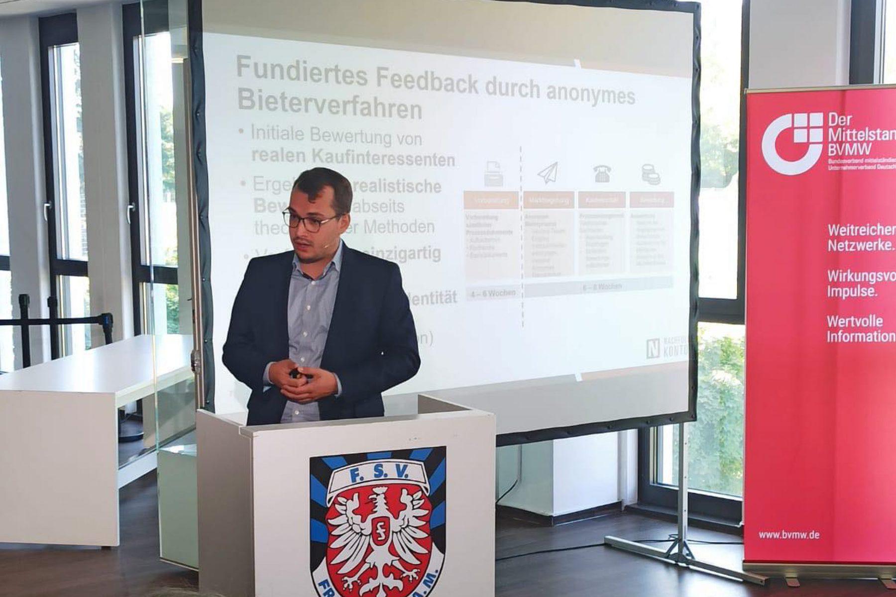 Sebastian Ringleb Vortrag Bvmw